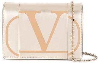 Valentino Go logo print bag