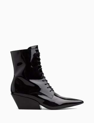 Calvin Klein faith patent leather boot
