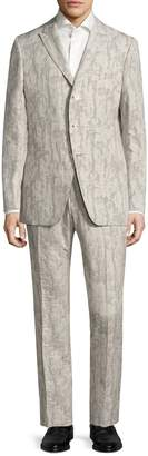 John Varvatos Men's Austin Angled Pocket Suit