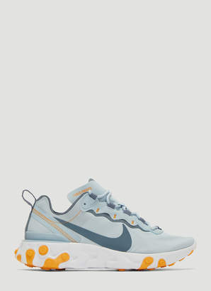 Nike React Element 87 Sneakers in Blue