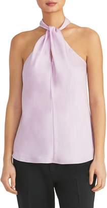 Rachel Roy Collection Twisted Halter Top