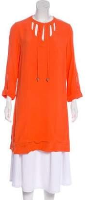 Diane von Furstenberg Kea Long Sleeve Tunic