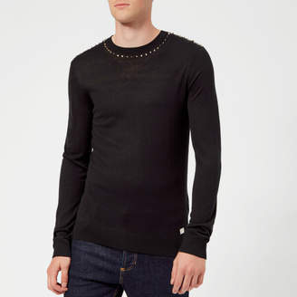 Versace Men's Crew Neck Knit Jumper