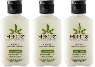 Hempz Original Herbal Body Moisturizer Trio (Three Items), 2.25-oz, from Purebeauty Salon & Spa