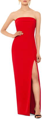Xscape Evenings Strapless Evening Gown