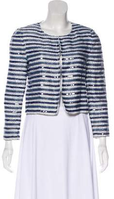 Alice + Olivia Embellished Cropped Jacket