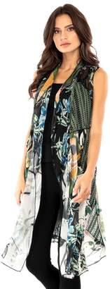 Adore Floral Patchwork Vest