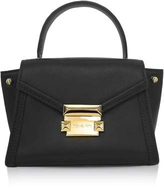 Michael Kors Whitney Mini Leather Satchel