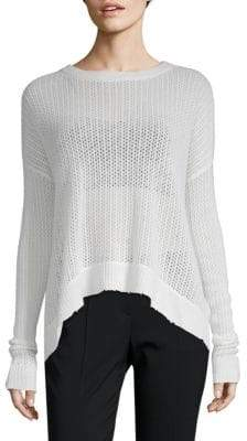 Zadig & Voltaire Killy Fishnet Deluxe Cashmere Sweater
