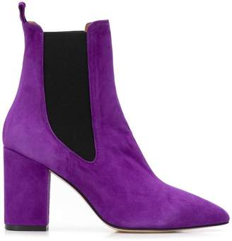 Paris Texas pointed toe ankle boots
