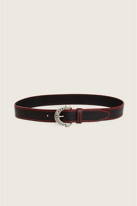 True Religion RED BIG T MENS BELT