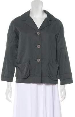 Miu Miu Lightweight Notch-Lapel Jacket