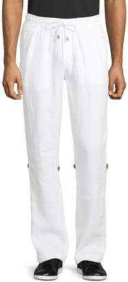 Point Zero Linen Roll-Up Pants