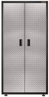 """Gear Box Gladiator Ready-to-Assemble Large GearBox 36"""" W x 72"""" H x 18"""" D Steel Storage Cabinet"""