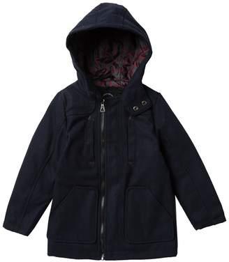 Urban Republic Wool Blend Coat (Toddler & Little Boys)