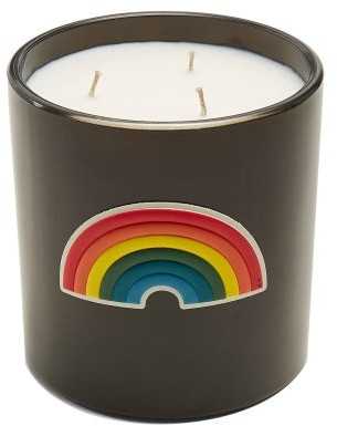 Anya Hindmarch Anya Smells Washing Powder Large Scented Candle - Womens - Black Multi
