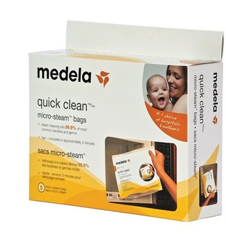 Medela Quick Clean Micro-Steam Bag 5-Pack