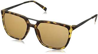 Calvin Klein Men's R364S Square Sunglasses