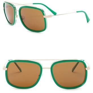 Versace Women's 60mm Square Pop Chic Sunglasses
