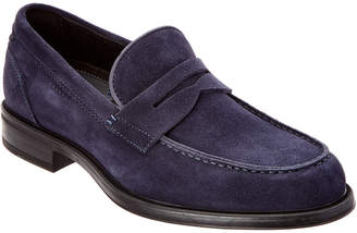 Aquatalia Men's Neil Waterproof Suede Loafer