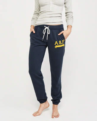 Abercrombie & Fitch Logo Banded Sweatpants