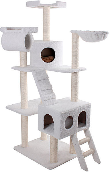 "JCPenney Majestic Pet 73"" Bungalow Cat Tree - Sherpa"