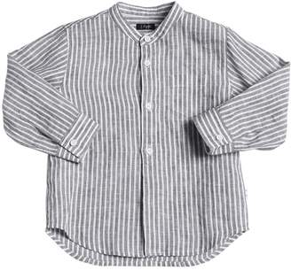 Il Gufo Striped Linen Shirt