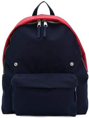 Raf Simons oversized colour block backpack