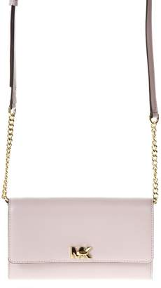 MICHAEL Michael Kors Mot Pink Leather Clutch