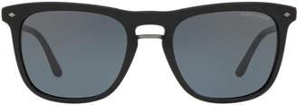 Giorgio Armani Ar8107 53 Grey Square Sunglasses