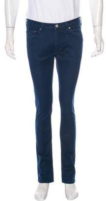 Acne Studios Vega Deep Petrol Slim Fit Pants