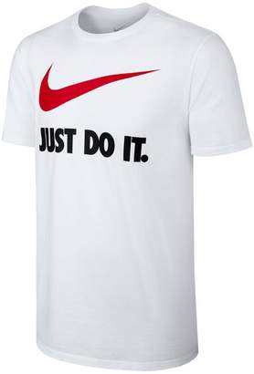 Nike Short-Sleeved Crew Neck T-Shirt with Print on Front