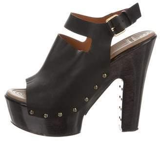 Givenchy Stud-Embellished Platform Sandals