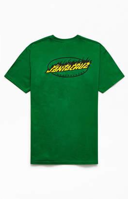 Santa Cruz Oval Flame Dot T-Shirt