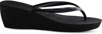 Havaianas High Fashion wedge flip-flops
