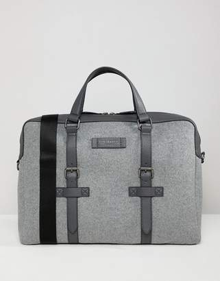 Ted Baker Cabble document bag in wool