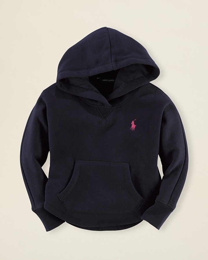 Ralph Lauren Girls' Hoodie - Sizes 2T-6X
