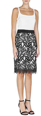 Adelyn Rae Sleeveless Two-Fer Dress