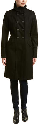 T Tahari Alice Wool-Blend Coat