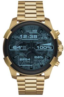 Diesel R) Full Guard Touchscreen Bracelet Smartwatch, 48mm x 54mm