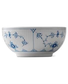 Royal Copenhagen Blue Fluted Plain Bowl 13Cm