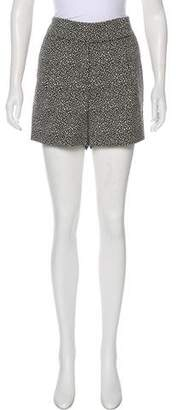 Lela Rose High-Rise Mini Shorts w/ Tags