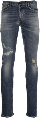Christian Dior Distressed Jeans