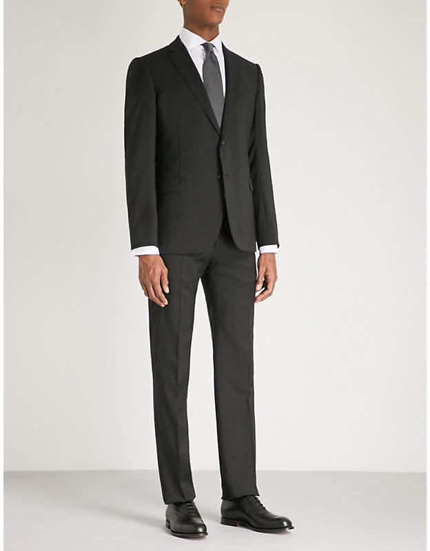 Gio slim-fit wool suit