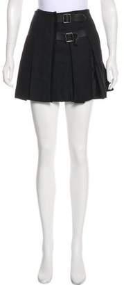 Burberry Wool Wrap Skirt