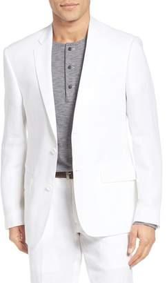 Nordstrom Trim Fit Linen Blazer