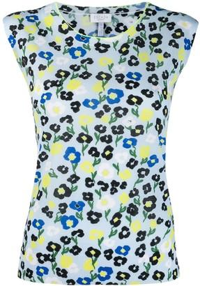 Escada Sport floral print vest top