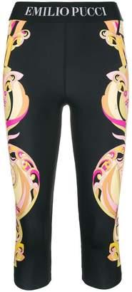Emilio Pucci printed cropped leggings