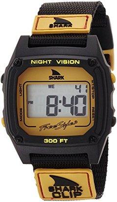 Freestyle (フリースタイル) - [フリースタイル]Freestyle 腕時計 SHARK CLIP 10気圧防水 オレンジ×ブラック 10021617 メンズ 【正規輸入品】