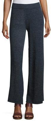 Minnie Rose La Playa Palazzo Pants, Navy $145 thestylecure.com